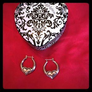 ❤️Brighton Silver Heart Earrings